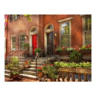 Prospectus 21,6 Cm X 24,94 Cm Ville - PA Philadelphie - jolie Philadelphie