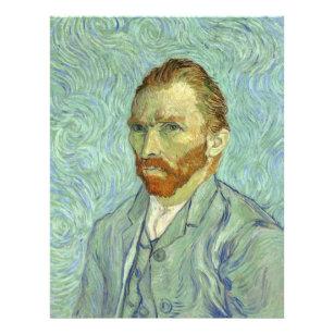Prospectus 21,6 Cm X 24,94 Cm Vincent Van Gogh Autoportrait Beaux-Arts Peinture