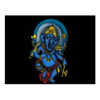 Prospérité de Ganesh Carte Postale