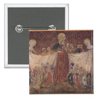 Protecteur de Vierge, c.1417 Badge Carré 5 Cm