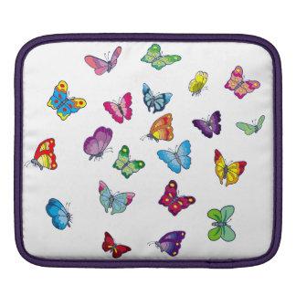 protection d'iPad de papillon horizontale