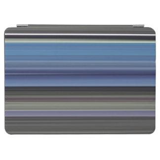 Protection iPad Air #1 abstrait : Bleu et gris