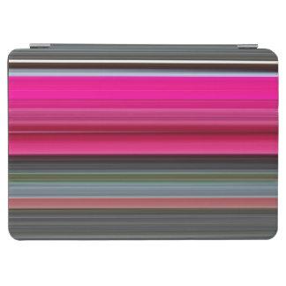Protection iPad Air #1 abstrait : Couleur cerise et gris