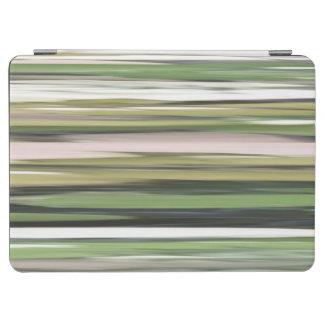 Protection iPad Air #2 abstrait : Tache floue de vert olive
