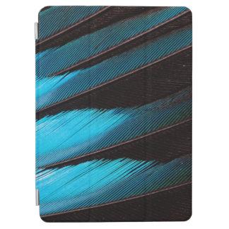 Protection iPad Air Abrégé sur Bleu-Gonflé plume de rouleau