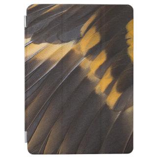 Protection iPad Air Abrégé sur noir et jaune plume
