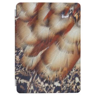 Protection iPad Air Abrégé sur plume de Brown Tragopan