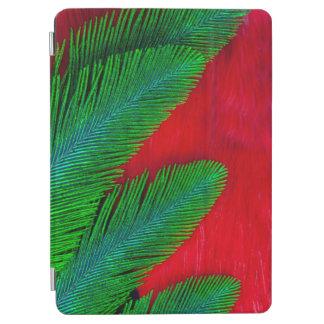 Protection iPad Air Abrégé sur rouge et vert plume