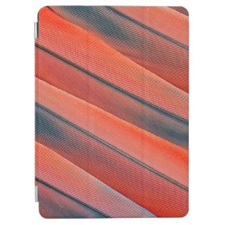 Protection iPad Air Abrégé sur rouge plume d'ara