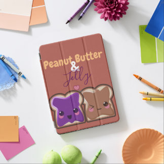 Protection iPad Air Amis de beurre et de gelée d'arachide de Kawaii