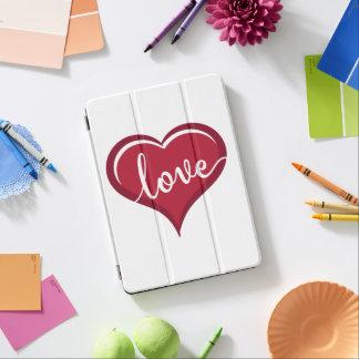 Protection iPad Air amour dans des valentines de coeur