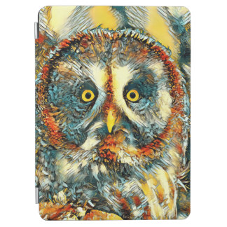 Protection iPad Air AnimalArt_Owl_20170901_by_JAMColors