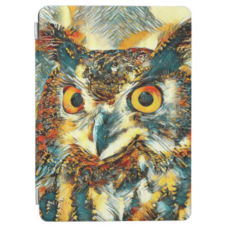 Protection iPad Air AnimalArt_Owl_20170902_by_JAMColors