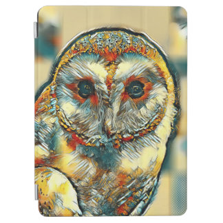 Protection iPad Air AnimalArt_Owl_20170903_by_JAMColors