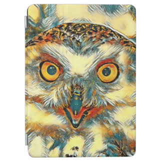 Protection iPad Air AnimalArt_Owl_20170904_by_JAMColors