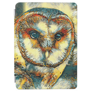 Protection iPad Air AnimalArt_Owl_20170915_by_JAMColors