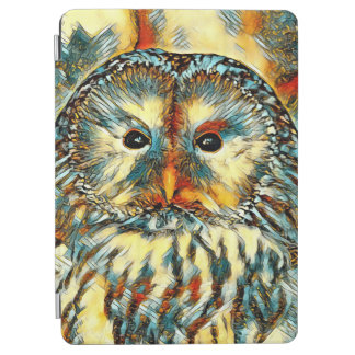 Protection iPad Air AnimalArt_Owl_20170922_by_JAMColors