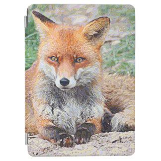 Protection iPad Air AnimalPaint_Fox_20171201_by_JAMColors