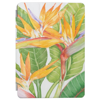 Protection iPad Air Aquarelle exotique de fleurs
