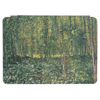 Protection iPad Air Arbres de Vincent van Gogh | et broussaille, 1887