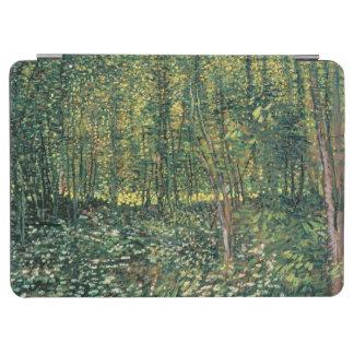 Protection iPad Air Arbres de Vincent van Gogh   et broussaille, 1887