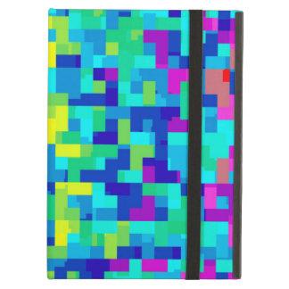 Protection iPad Air Arrière - plan sans couture de motif de pixel en