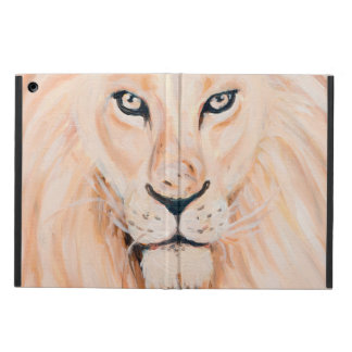 Protection iPad Air Art fort d'huile de portrait de lion