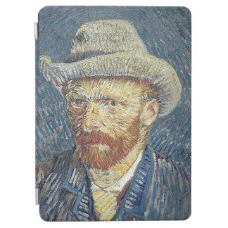 Protection iPad Air Autoportrait de Vincent van Gogh | avec le chapeau