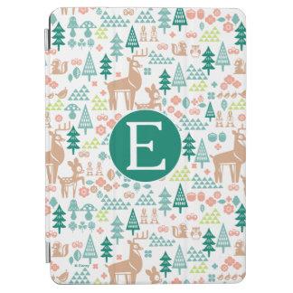 Protection iPad Air Bambi et monogramme du motif | d'amis de région