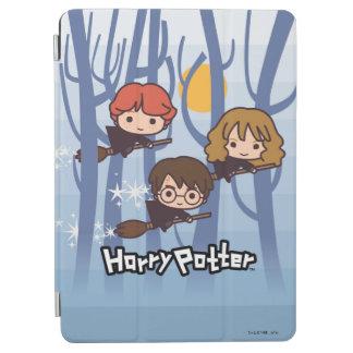 Protection iPad Air Bande dessinée Harry, Ron, et vol de Hermione en