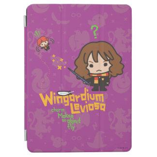 Protection iPad Air Bande dessinée Hermione et charme de Ron