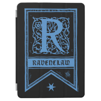 Protection iPad Air Bannière de monogramme de Harry Potter | Ravenclaw