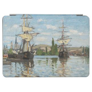 Protection iPad Air Bateaux de Claude Monet | montant sur la Seine à