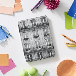 Protection iPad Air Bâtiment vintage noir et blanc du voyage | à Paris