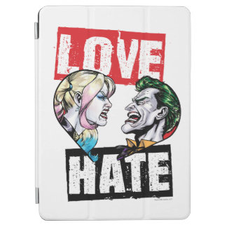 Protection iPad Air Batman | Harley Quinn et amour de joker/haine