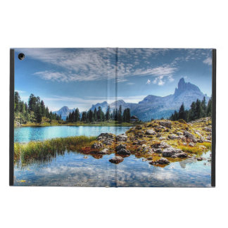 Protection iPad Air Bel art de paysage de montagne, caisse d'air