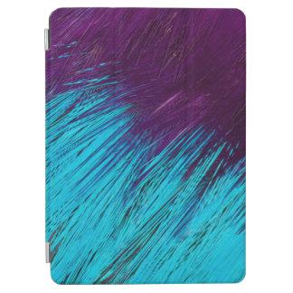 Protection iPad Air Bleu un abrégé sur pourpre plume
