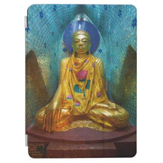 Protection iPad Air Bouddha dans l'alcôve fleurie