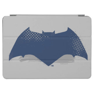 Protection iPad Air Brosse de la ligue de justice | et symbole tramé