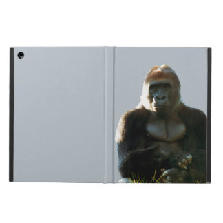 Protection iPad Air Caisse animale d'air d'iPad de singe frais et