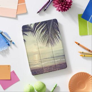 Protection iPad Air Caisse d'air d'iPad tropical de plage et de