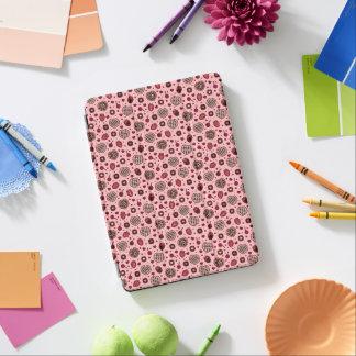 Protection iPad Air Caisse douce rose d'air d'iPad de motif de festins