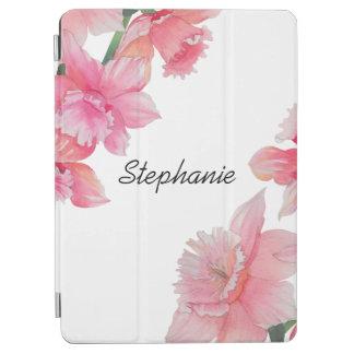 Protection iPad Air Caisse florale personnalisée d'air d'iPad