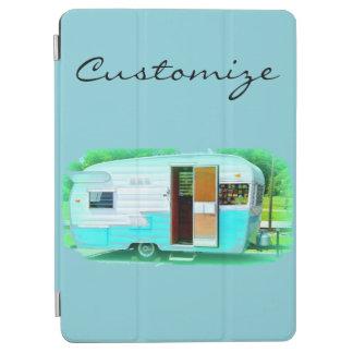 Protection iPad Air Caravane classique vintage de gitan de remorque
