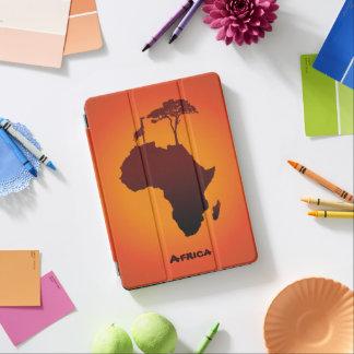 Protection iPad Air Carte africaine de safari - couverture d'iPad