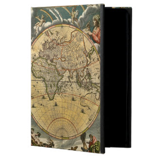 Protection iPad Air Carte antique J. Blaeu 1664 du monde