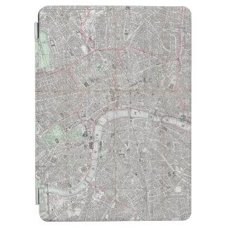 Protection iPad Air Carte vintage de ville de Londres