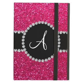 Protection iPad Air Cercle de diamant de parties scintillantes de rose