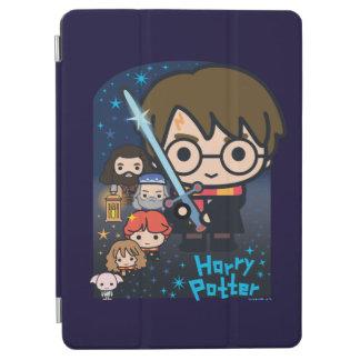 Protection iPad Air Chambre de Harry Potter de bande dessinée des