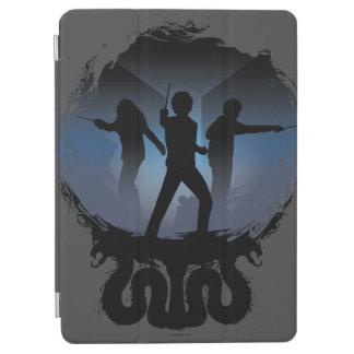 Protection iPad Air Chambre de Harry Potter | de silhouette de secrets